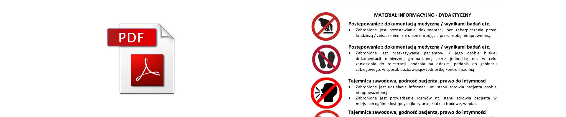 Infografika zakazane praktyki