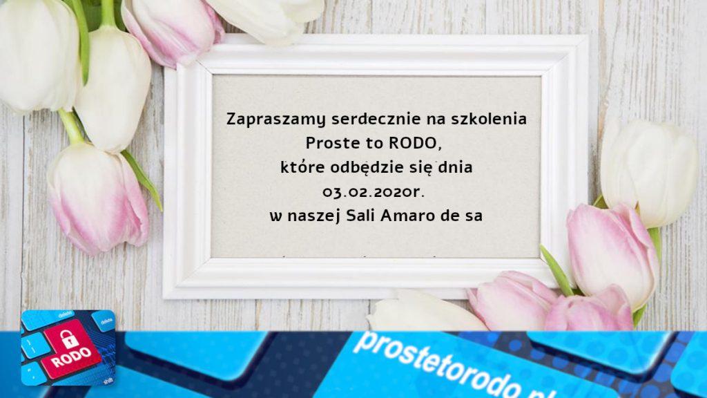 Proste to RODO 2 - szkolenie RODO w Częstochowie