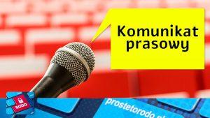 Komunikat prasowy szkolenie z ochrony danych osobowych