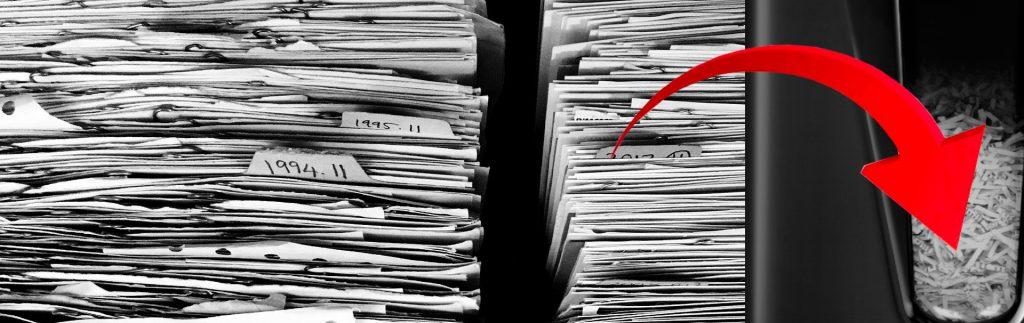 Niszczarki do dokumentów dla przychodni dla szpitali dla lekarzy