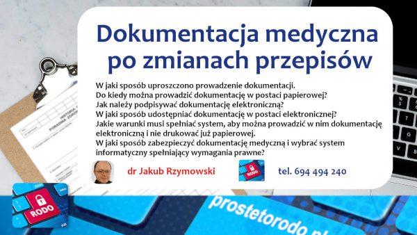 Elektroniczna Dokumentacja Medyczna - Rozporządzenie w sprawie dokumentacji medycznej