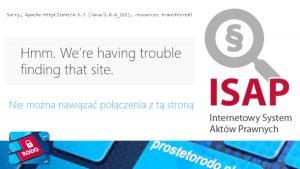 Internetowy System Aktów Prawnych jak naprawić