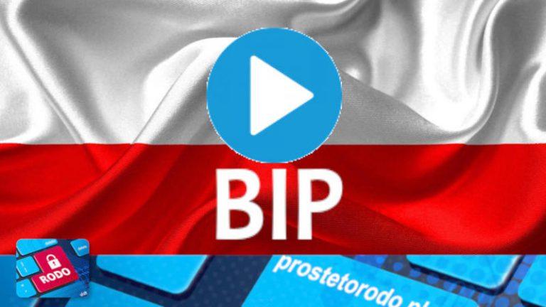 Jak prowadzić BIP - webinar nagranie VIDEO