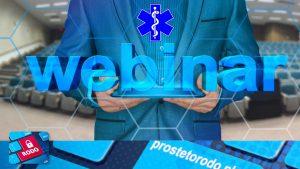Webinary dla personelu medycznego szkolenia video