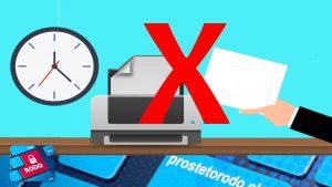 Co zrobić, aby nie drukować dokumentacji medycznej