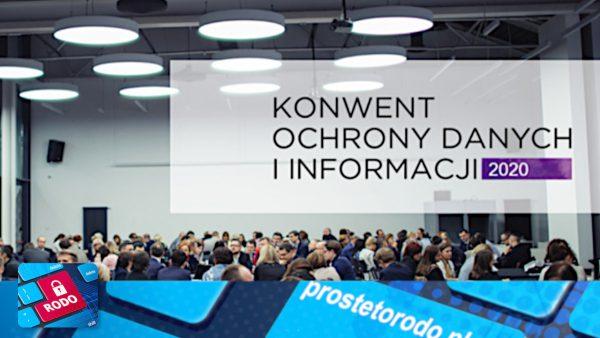 Konwent Ochrony Danych i Informacji 2020r.