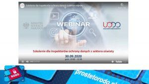 Podsumowanie szkolenia dla IOD oświatowych UODO