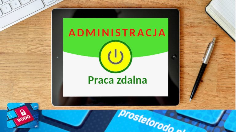 Praca zdalna w urzędach administracji publicznej
