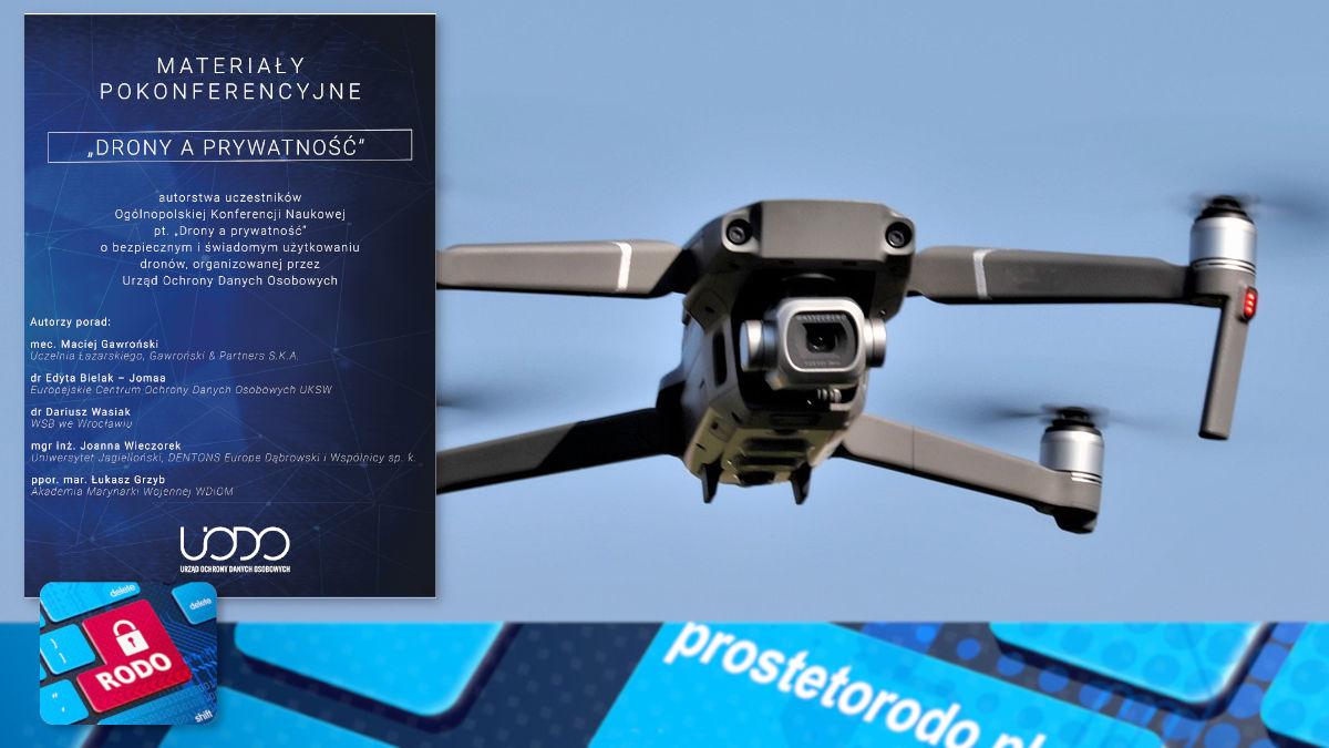 eBook UODO - Drony a prywatność