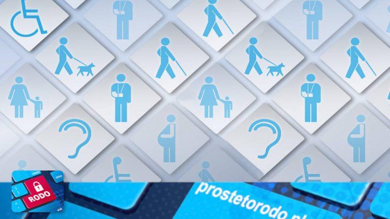 Obowiązkowy raport o stanie zapewniania dostępności osobom ze szczególnymi potrzebami. Minimalne wymagania dostępności.