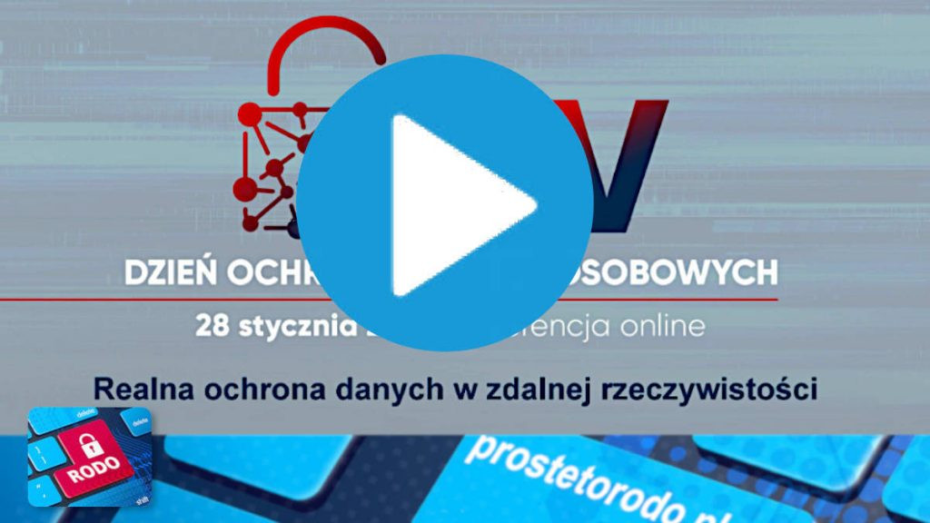 Nagranie VIDEO Konferencji UODO