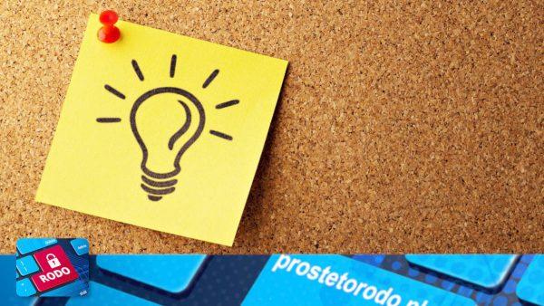 Praktyczne informacje dla pracowników, podane prostym zrozumiałym językiem, a jednocześnie informujące o prawidłowych praktykach RODO