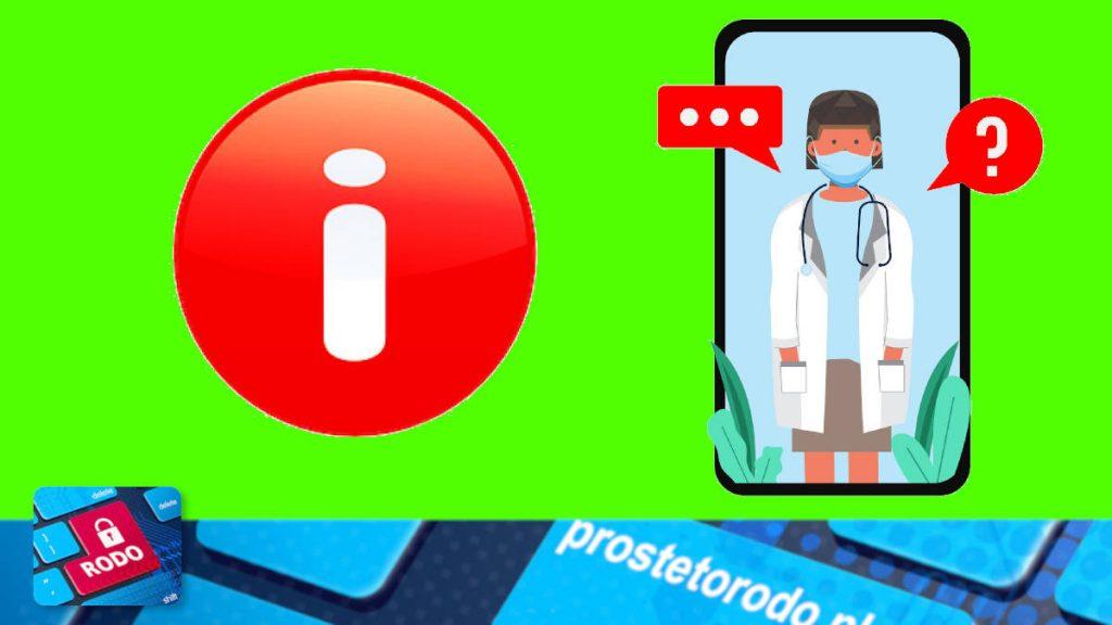 Jak udzielać informacji o stanie zdrowia pacjenta