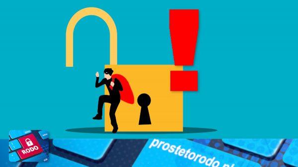 Naruszenie ochrony danych osobowych